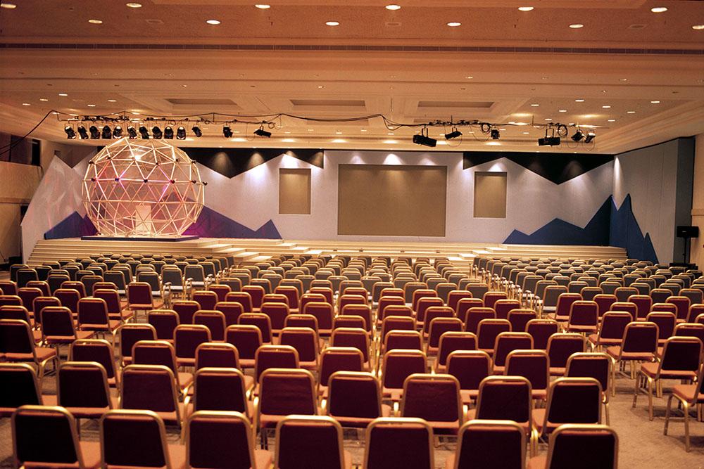 coral meeting room